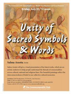 Unity of Sacred Symbols & Words