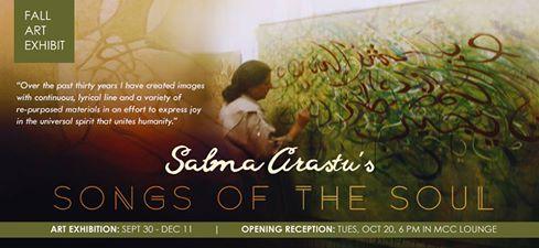 Santa Barbara exhibition - Salma Arastu