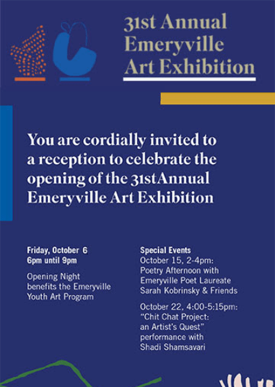 31st Annual Emeryville Art Exhibition