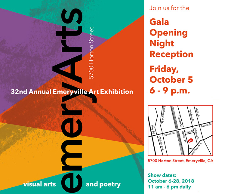 Emeryville Art Exhibition - Salma Arastu